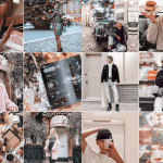 Examples of aesthetic feeds on Instagram